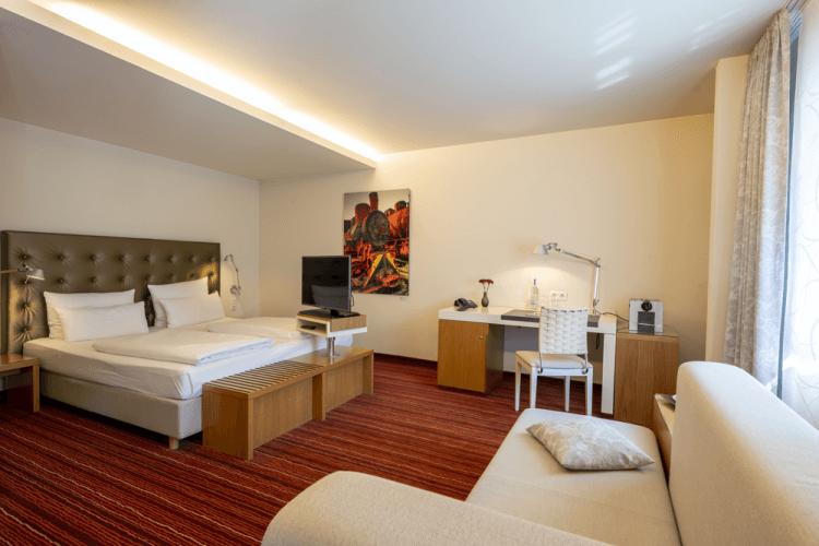 Zimmer Kategorie Doppelzimmer Business Premium Zimmer Hotel An der Gruga Essen