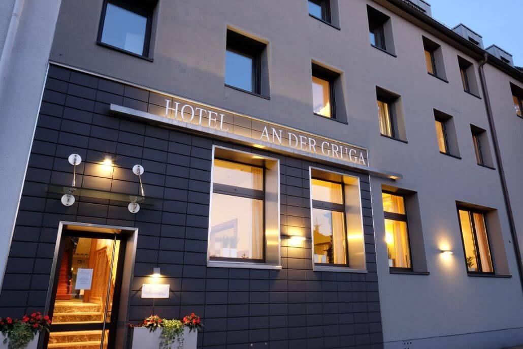 Aussenansicht Außenansicht Hotel An der Gruga Essen