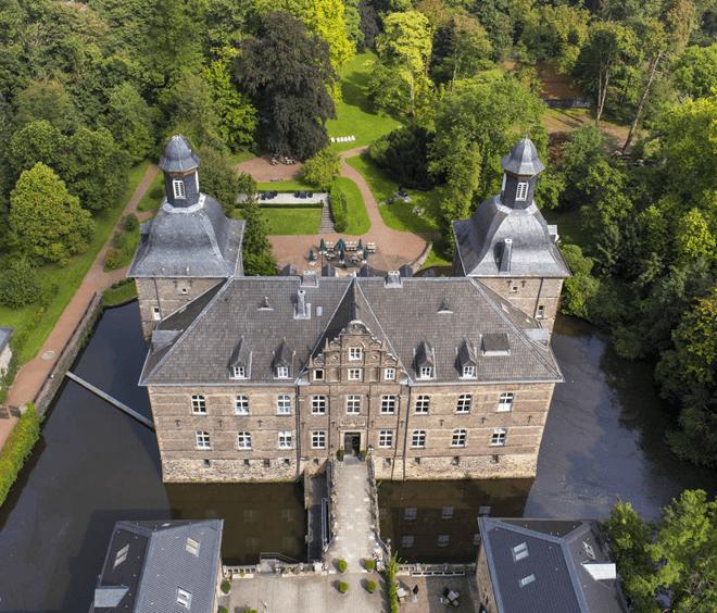 Schloss Huhenpoet Ruhrgebiet Essen Umgebung Hotel An der Gruga