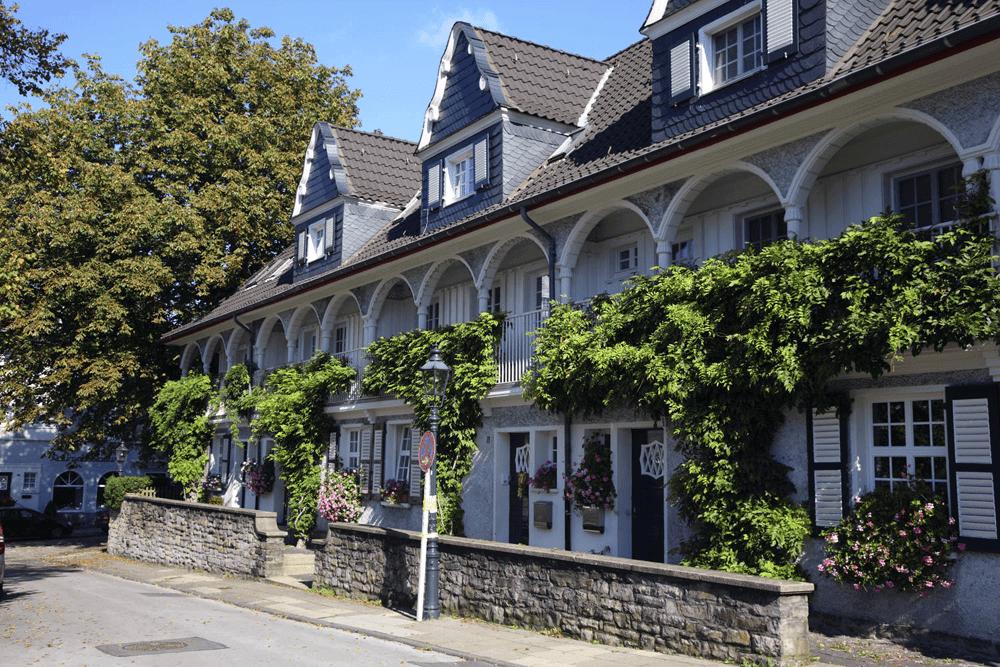 Stadtteil Margarethenhöhe Ruhrgebiet Essen Umgebung Hotel An der Gruga