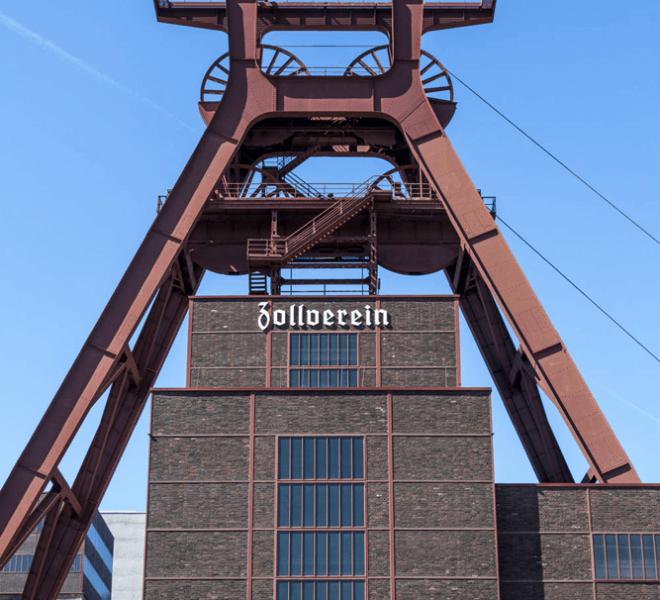 Zeche Zollverein Ruhrgebiet Essen Umgebung Hotel An der Gruga