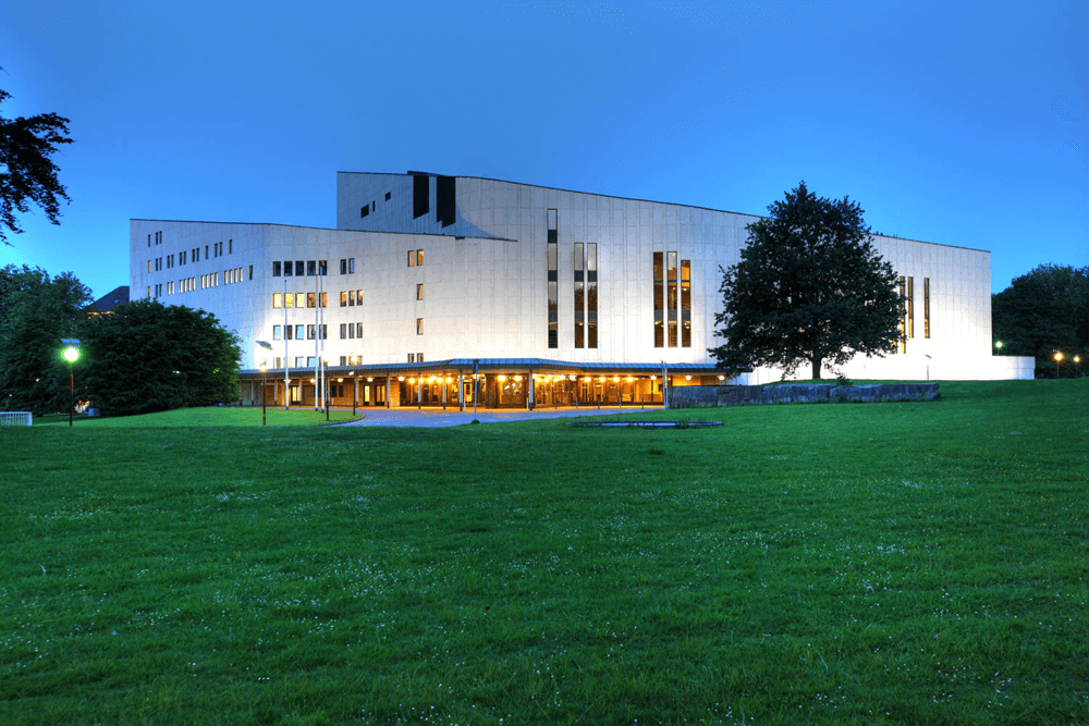 Aalto Theater Umgebung Ruhrgebiet Essen Hotel An der Gruga Essen