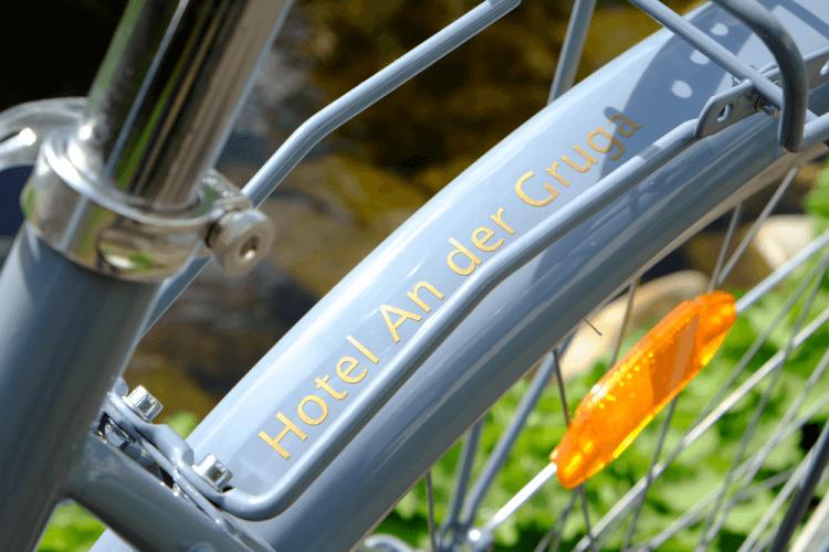 Kostenlose Fahrräder Fahrrad Hotel An der Gruga Essen Messehotel Klinkhotel