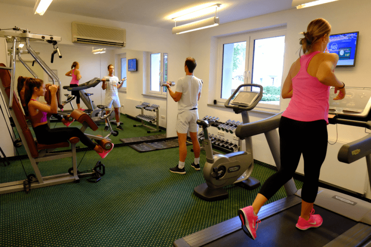 Fitnessstudio Fitness Studio Fitness Raum Hotel An der Gruga Essen