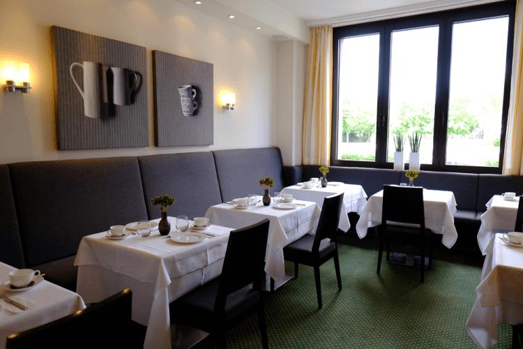 Restaurant Frühstück Buffet Hotel An der Gruga Essen